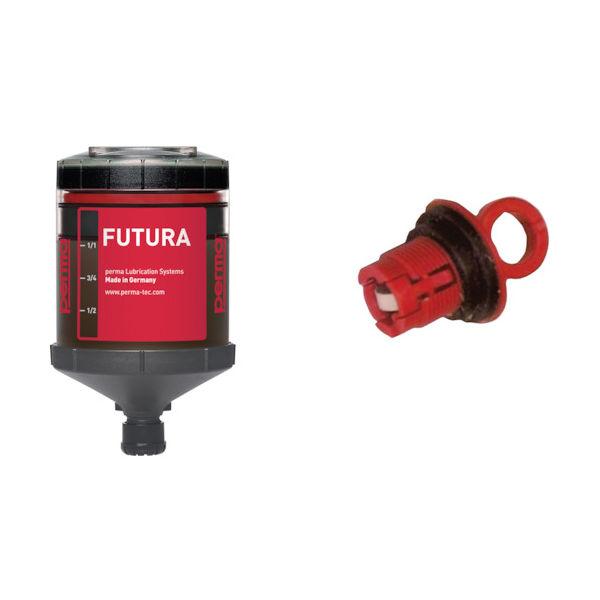 Permatex(パーマテックス) perma 自動給油器 SF01 6ヶ月 標準グリス 120CC付き PF-SF01-6 1個 448-0236(直送品)