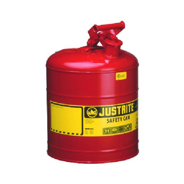 JUSTRITE(ジャストライト) ジャストライト セーフティ缶 タイプ1 5ガロン J7150100 1個 472-1781(直送品)
