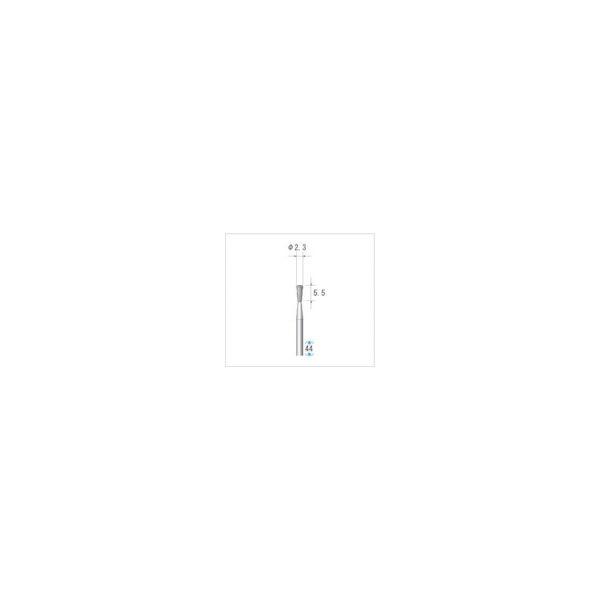 ナカニシ 超硬カッター 逆テーパー(ダイヤカット・エンドカット付)刃径2.3mm 刃長5.5mm 23092 1本 476-2584(直送品)