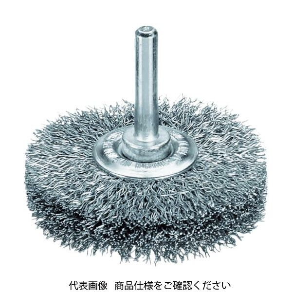 LESSMANN(レスマン) LESSMANN 軸付ホイルブラシ 鋼線 0.3 φ40 414162 1個 483-9749(直送品)