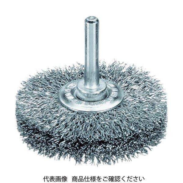 LESSMANN(レスマン) LESSMANN 軸付ホイルブラシ 鋼線 0.3 φ50 415162 1個 483-9781(直送品)
