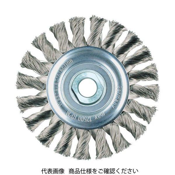 LESSMANN(レスマン) LESSMANN ホイールブラシ Φ115 高張度鋼線 0.35 472114 1個 484-0399(直送品)