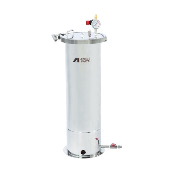 アネスト岩田(ANEST IWATA) アネスト岩田 ステンレス製下出し加圧タンク 20L COT-ZB20 1台 489-6050(直送品)