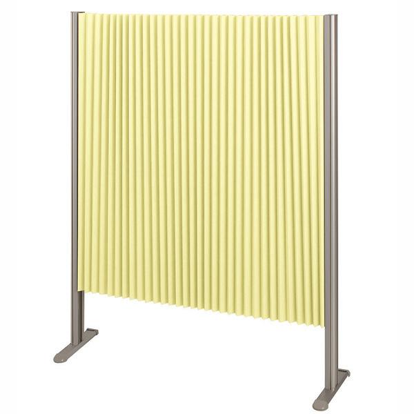 林製作所 ダブルプリーツ伸縮スクリーンS 防炎・抗菌タイプ L7051 サイズS 幅900mm 高さ1200mm グリーン (直送品)