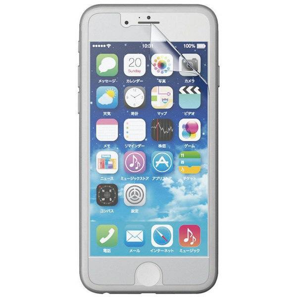 エレコム iPhone 6用フィルム/反射防止 PM-A14FLT (直送品)