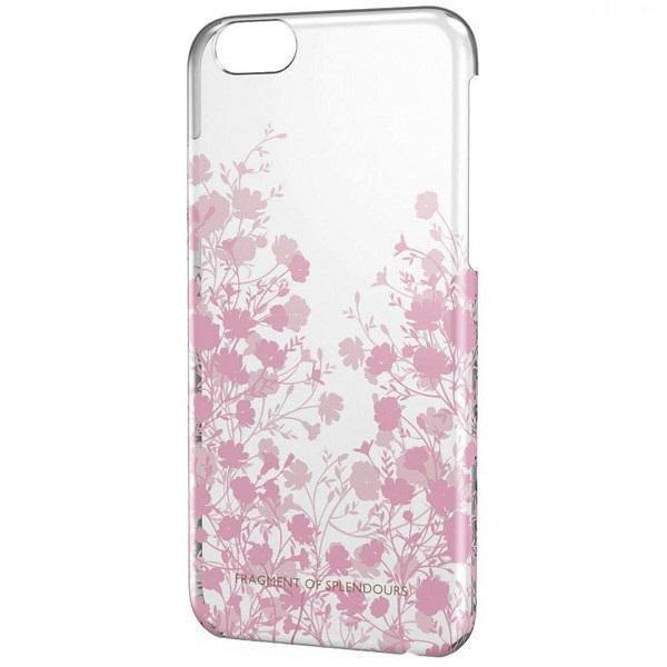 エレコム iPhone6用シェルカバー for Girl PM-A14PVG02 (直送品)