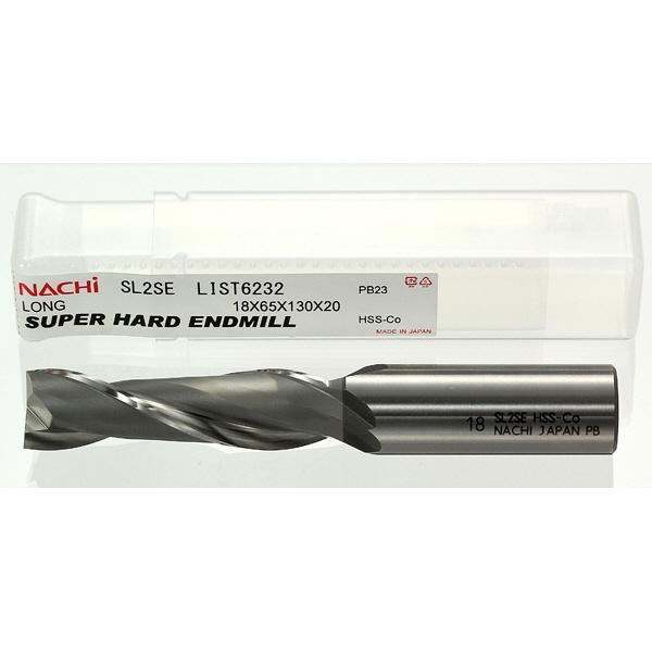 不二越 スーパーハード ロング 2枚刃 SL2SE18 1セット(2本入) (直送品)