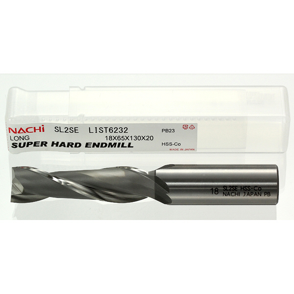 不二越 スーパーハード ロング 2枚刃 SL2SE6 1セット(5本入) (直送品)