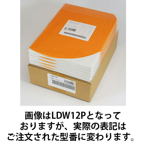 東洋印刷 ナナワード粘着ラベルワープロ&レーザー用 LDW6PB (直送品)