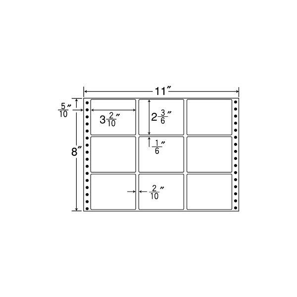 東洋印刷 タックフォームラベル M11D (直送品)