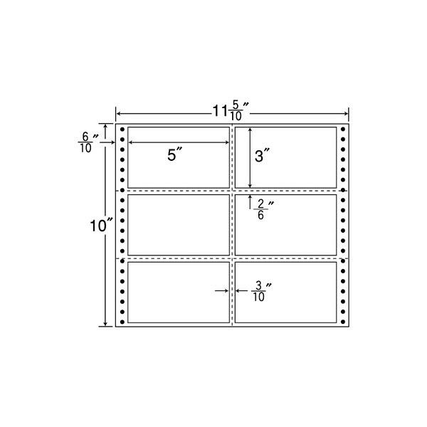 東洋印刷 タックフォームラベル M11P (直送品)