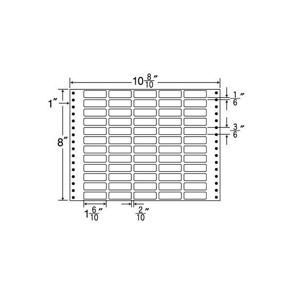 東洋印刷 タックフォームラベル MT10K (直送品)