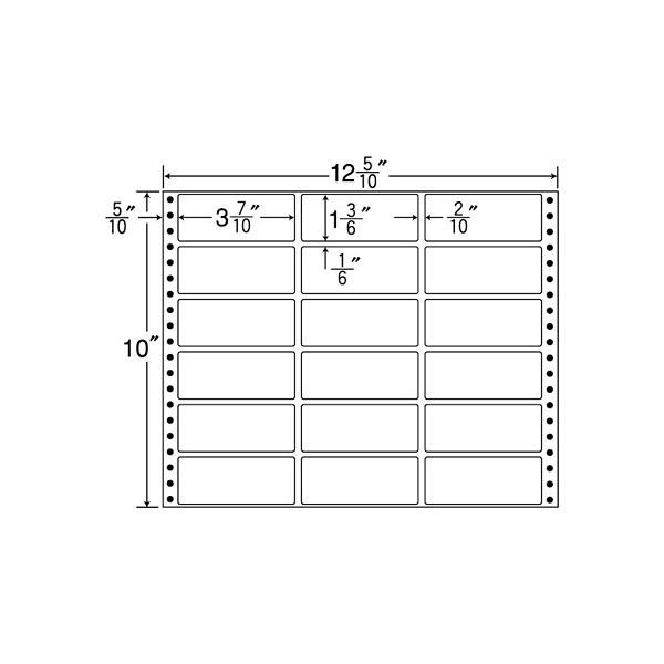 東洋印刷 タックフォームラベル MT12J (直送品)