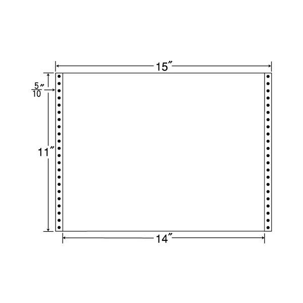 東洋印刷 タックフォームラベル MT15GS (直送品)