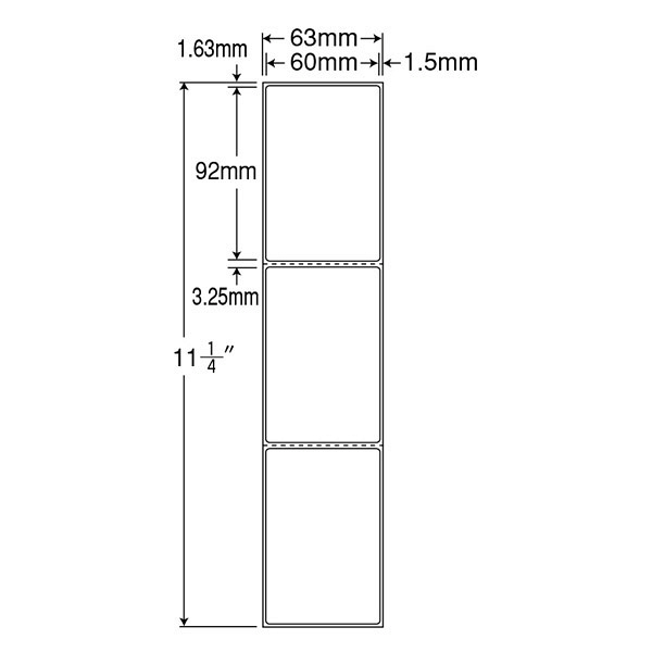 東洋印刷 PDラベル TM2BE (直送品)