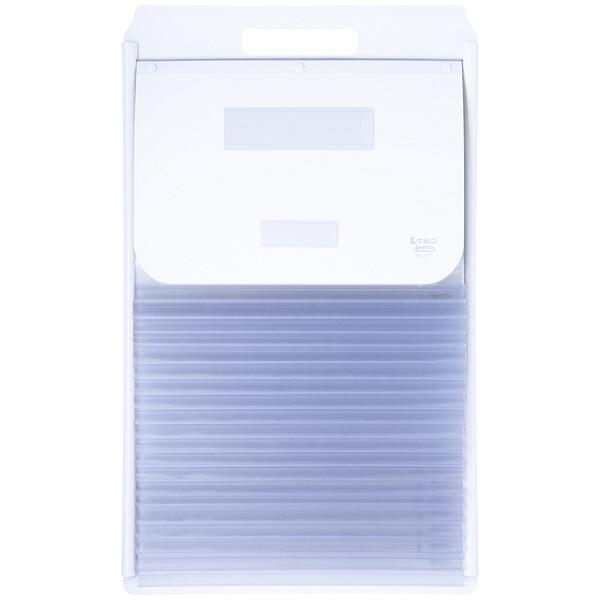ケルン A4 ペアポケット 19枚 ホワイト カーデックス KD402-W (直送品)