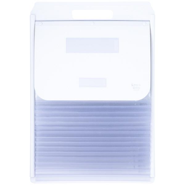 ケルン A4 ペアポケット 14枚 ホワイト カーデックス KD407-W (直送品)