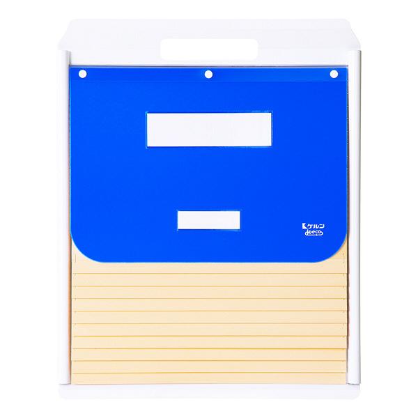 ケルン A4 スタンダード 10枚 ブルー カーデックス KD503-B (直送品)