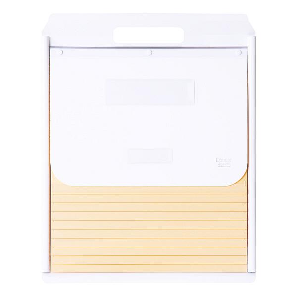 ケルン A4 スタンダード 10枚 ホワイト カーデックス KD503-W (直送品)