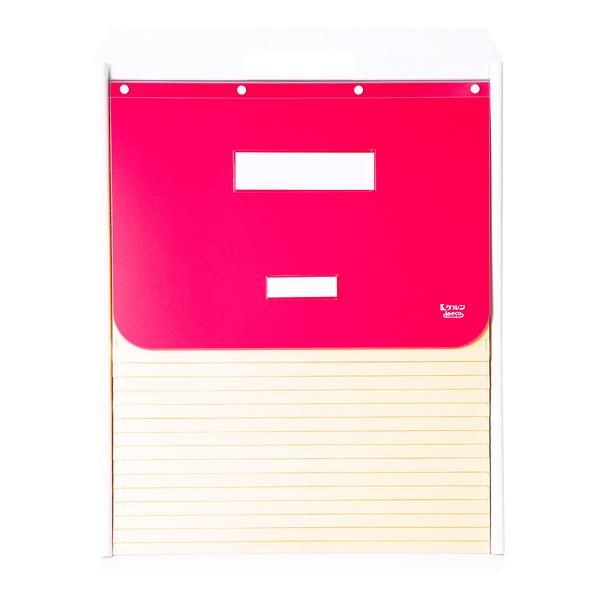 ケルン B4 スタンダード 15枚 ピンク カーデックス KD504-P (直送品)