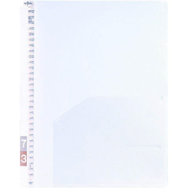 ケルン TDカルテバインダー A4タテ 背幅10mm 綴穴30穴 KS-010 1箱(10冊入) (直送品)