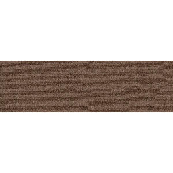 サンコー おくだけ吸着ロングマット60×600cm ブラウン 1枚 (直送品)