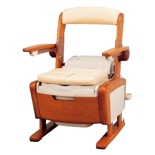 アロン化成 安寿 家具調トイレ AR-SA1 シャワピタ ノーマル H 1台 533-812 (直送品)