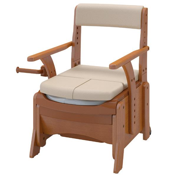 アロン化成 安寿 家具調トイレセレクトR コンパクト 暖房便座 533-882 (直送品)