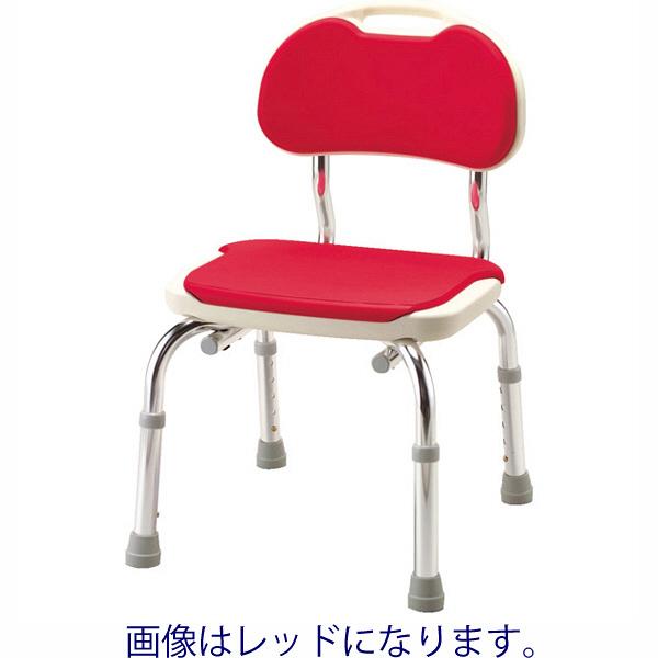 アロン化成 シャワーベンチ CPE-N 背もたれ付き ブルー 536-300 (直送品)