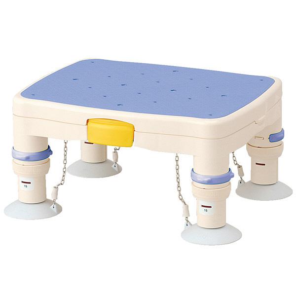 アロン化成 安寿 高さ調節付浴槽台R(標準) すべり止めシート ブルー 536-481 1台 (直送品)