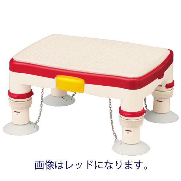 アロン化成 安寿 高さ調節付浴槽台R ミニ すべり止めシート ブルー 536-483 (直送品)