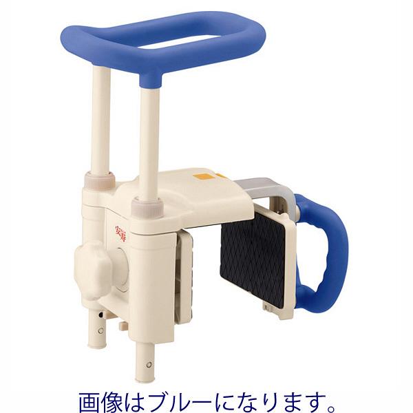 アロン化成 安寿 高さ調節付浴槽手すり UST-200N レッド 536-614 1台 (直送品)