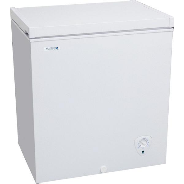 NORFROST(ノーフロスト) ノンフロン冷凍庫 チェストフリーザー 140L ホワイト (直送品)