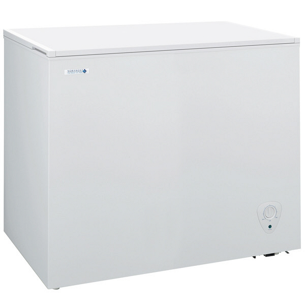 NORFROST(ノーフロスト) ノンフロン冷凍庫 チェストフリーザー 198L ホワイト (直送品)