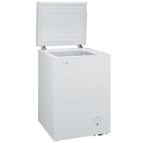 NORFROST(ノーフロスト) ノンフロン冷凍庫 チェストフリーザー 94L ホワイト (直送品)
