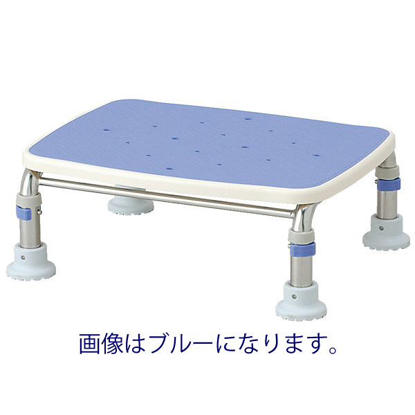 """アロン化成 安寿 ステンレス製 浴槽台R""""あしぴた"""" すべり止 レッド 536-442 (直送品)"""