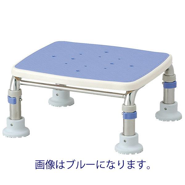 """アロン化成 安寿 浴槽台R""""あしぴた"""" ステンレス製 すべり止め レッド 536-464 1台 (直送品)"""