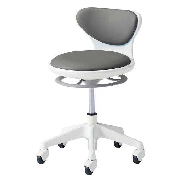 岡村製作所 ナーススツールWSタイプコンパクト脚タイプ 椅子 L890LG PB24 1脚  (直送品)