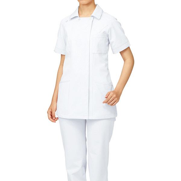 ルコックスポルティフ レディースジャケット ホワイトXホワイト LL UQW1029 1枚  (直送品)