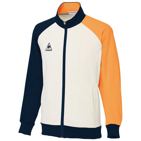 ルコックスポルティフ ユニセックスジャケット オレンジ L UZL1041 1枚  (直送品)