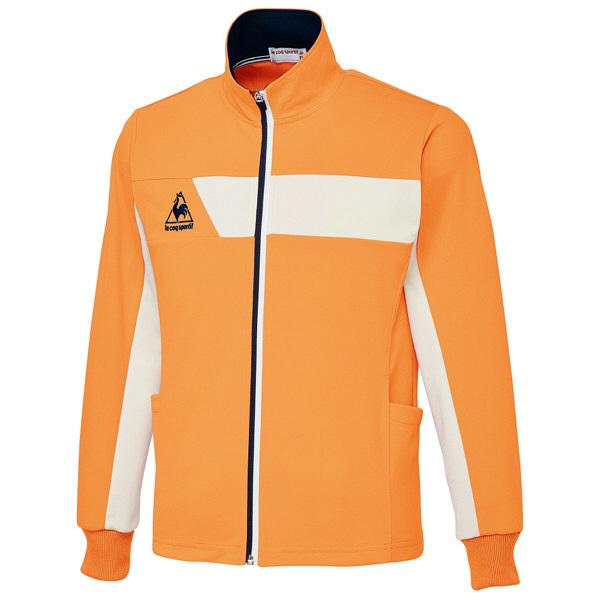 ルコックスポルティフ ユニセックスジャケット オレンジ 4L UZL1042 1枚  (直送品)