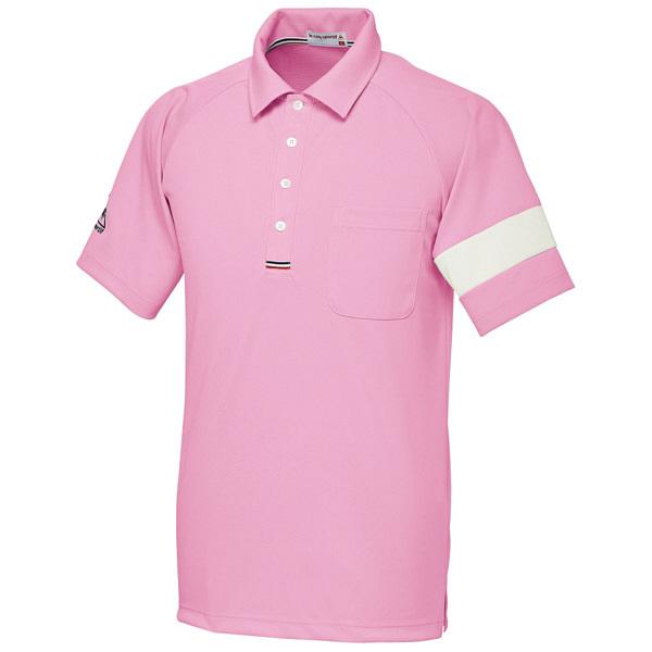ルコックスポルティフ ユニセックスニットシャツ ピンク M UZL3041 1枚  (直送品)