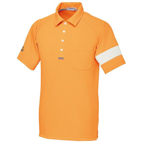 ルコックスポルティフ ユニセックスニットシャツ オレンジ L UZL3041 1枚  (直送品)