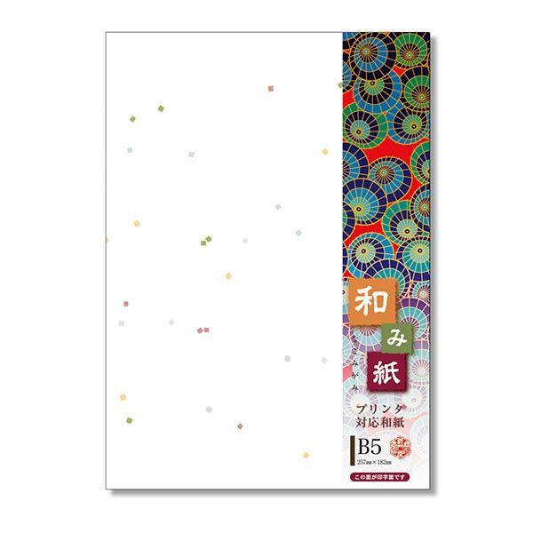 和み紙B5七夕白 20枚1セット(20枚入X10)ナー757(直送品)