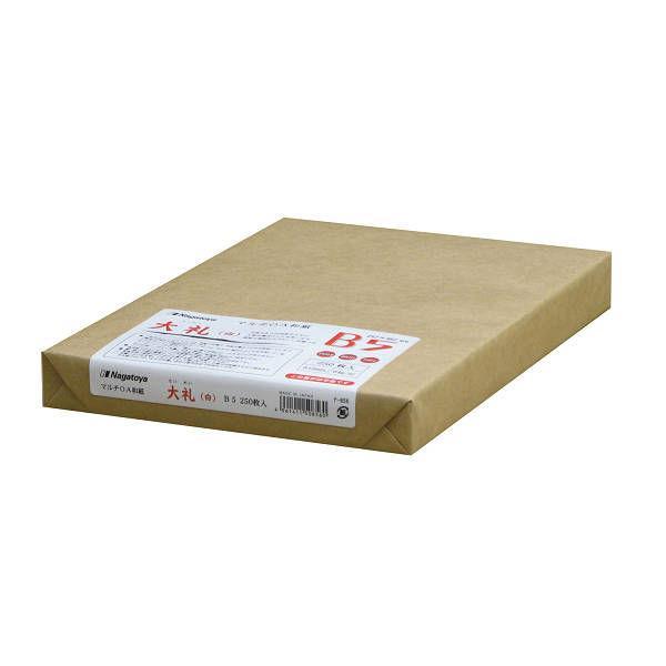 OA和紙白B5 250枚1セット(250枚入X4)ナー856(直送品)