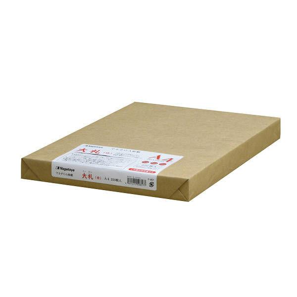 OA和紙白A4 250枚1セット(250枚入X4)ナー857(直送品)