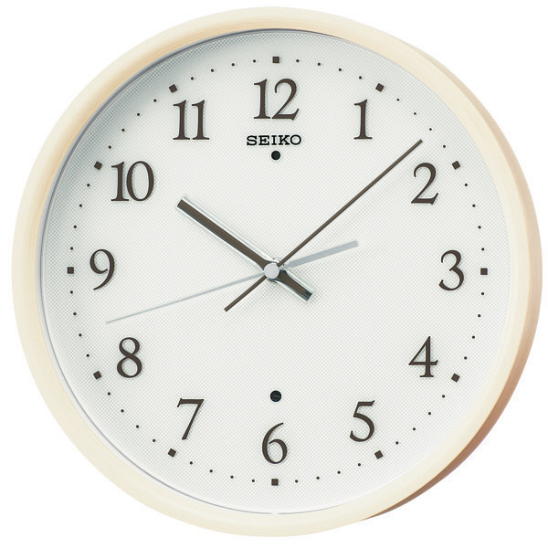SEIKO(セイコークロック) 電波掛け時計 KX207A 1個 (直送品)