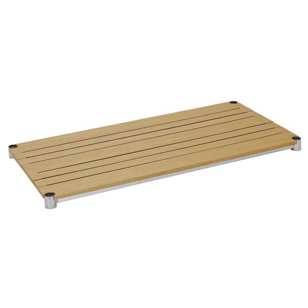 ルミナス ポール径25mm 追加パーツ 棚板(ウッドシェルフ ナチュラル) 幅915×奥行460mm WS9045-NA