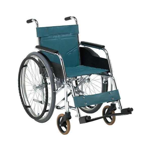 車いす本体自走用スチール製1台