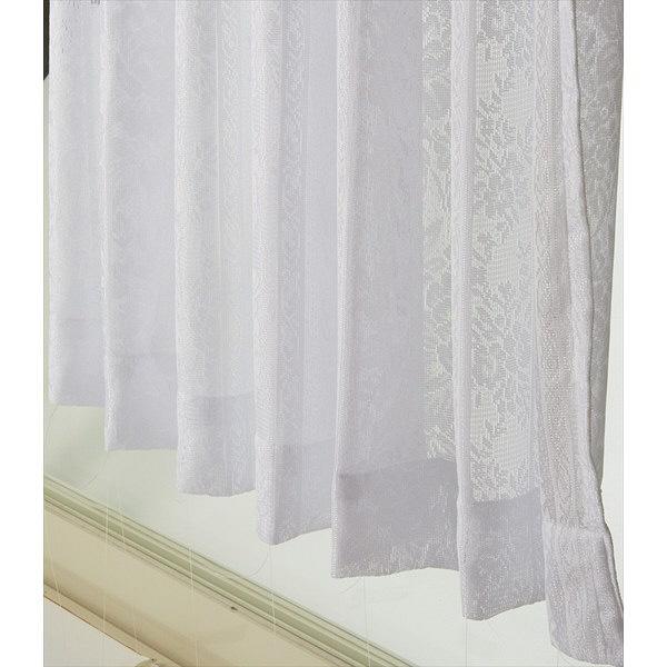 大一商事 ミラーカーテン#138 1000×1330mm 2P アイボリー (直送品)